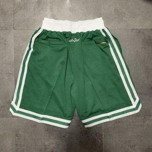 JUST DON Shorts Boston Celtics Throwback Shorts